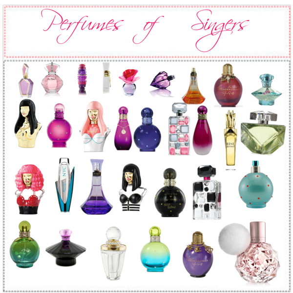 Fragrances By Celebrities